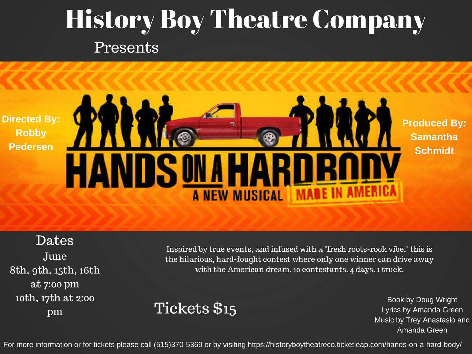 Hands on a Hardbody Flier